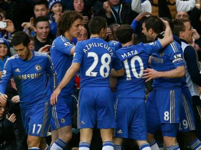 Chelsea 2 West Ham 0 (34)