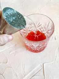 Pouring Prosecco