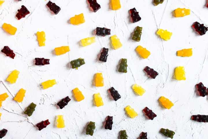 Vegan Gummy Bear Aerial View