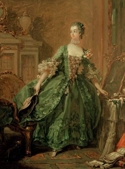 1750 Madame de Pompadour by Francois Boucher