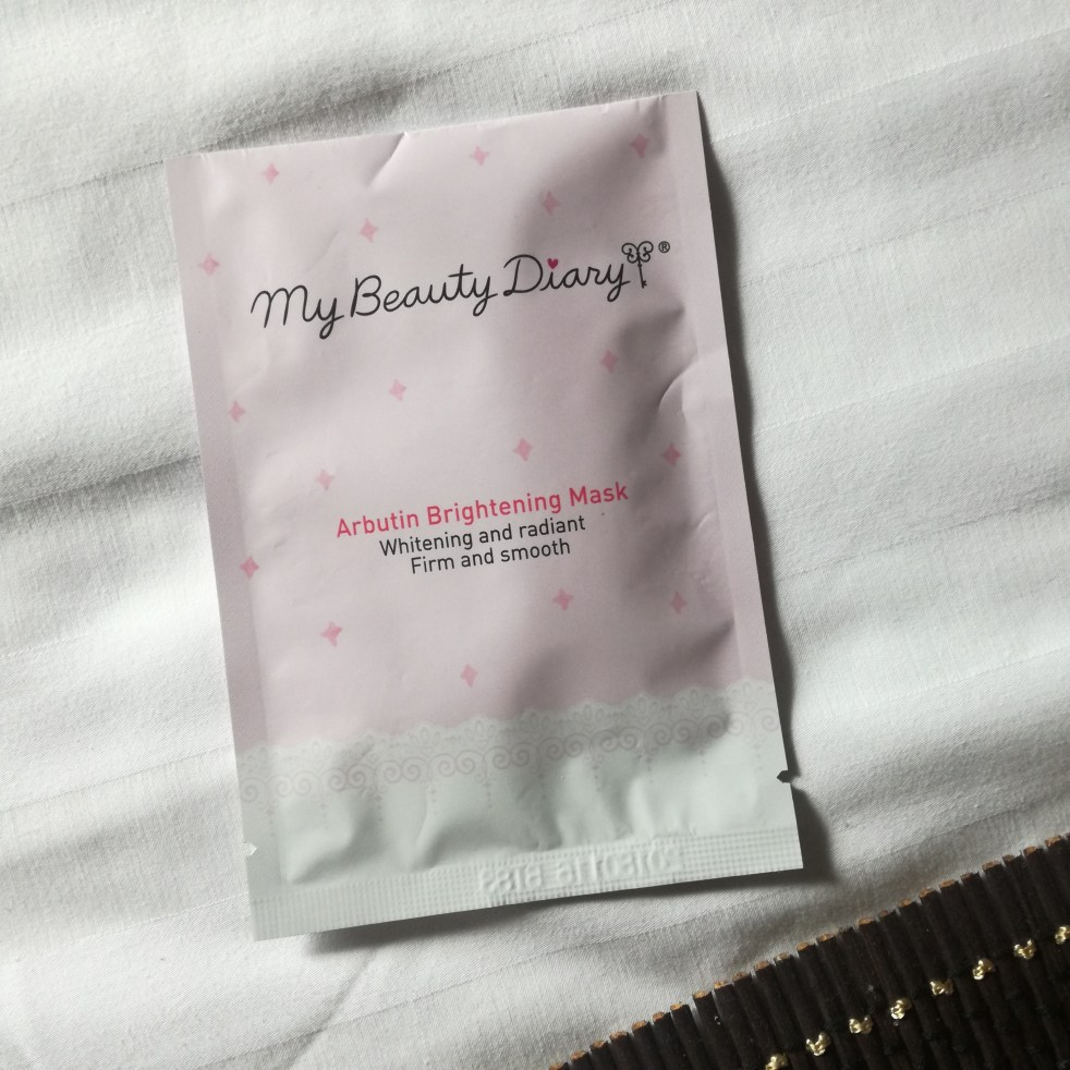 My Beauty Diary Arbutin Brightening Mask