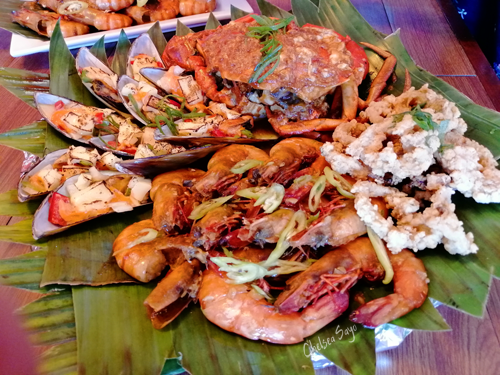 Seafood Platter at SouthSide Grill