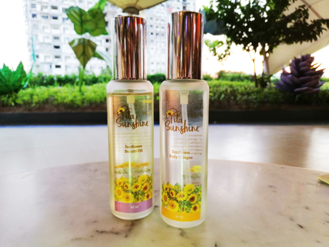 SUNFLOWER BEAUTY OIL & SUNFLOWER BODY COLOGNE
