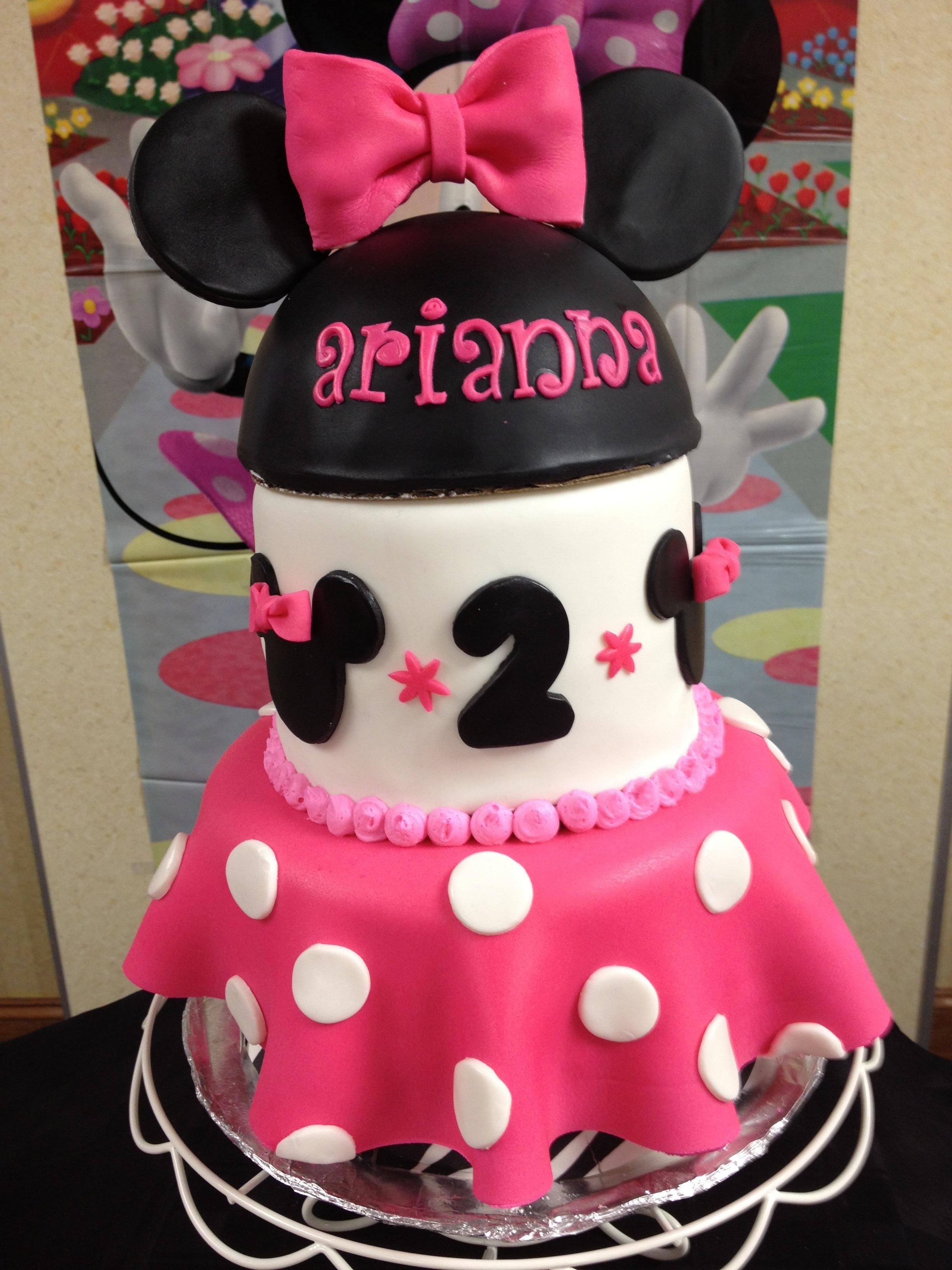 Minnie Mouse Birthday  Creative Cakes