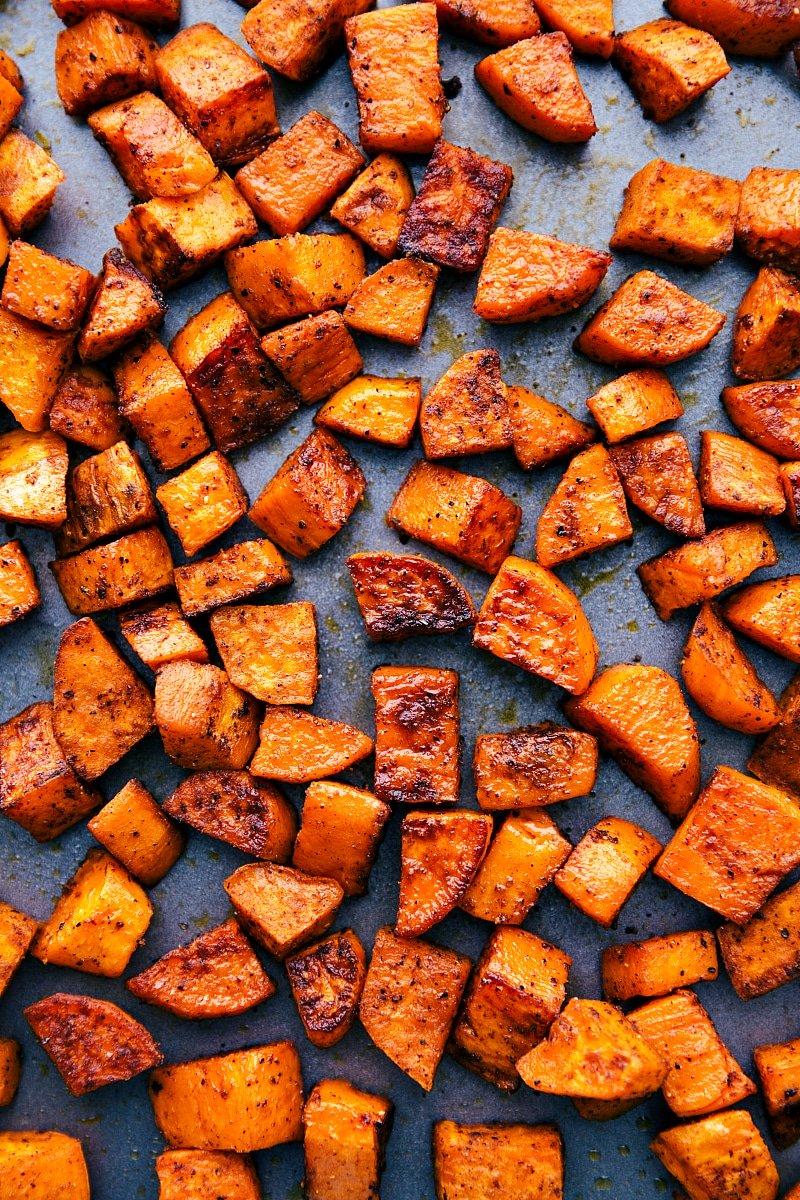How To Peel Sweet Potatoes-Food Tutorial - YouTube