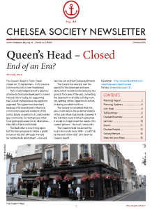 chelsea-society-newsletter-no-44-front-cover-image