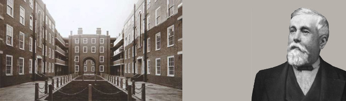 Peabody Estate in Chelsea Manor Street. © Peabody trust and William Sutton courtesy Affinity Sutton