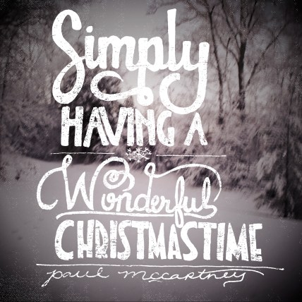 """Wonderful Christmastime"" by Paul McCartney - December 23, 2014"