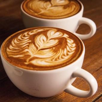 a latte