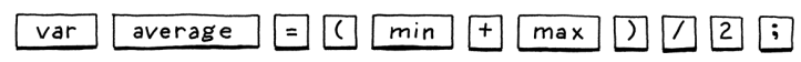 lexed source code