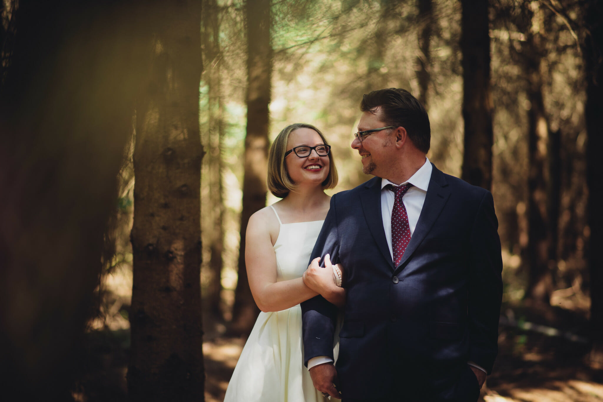 forest wedding photography at mansfield outdoor centre