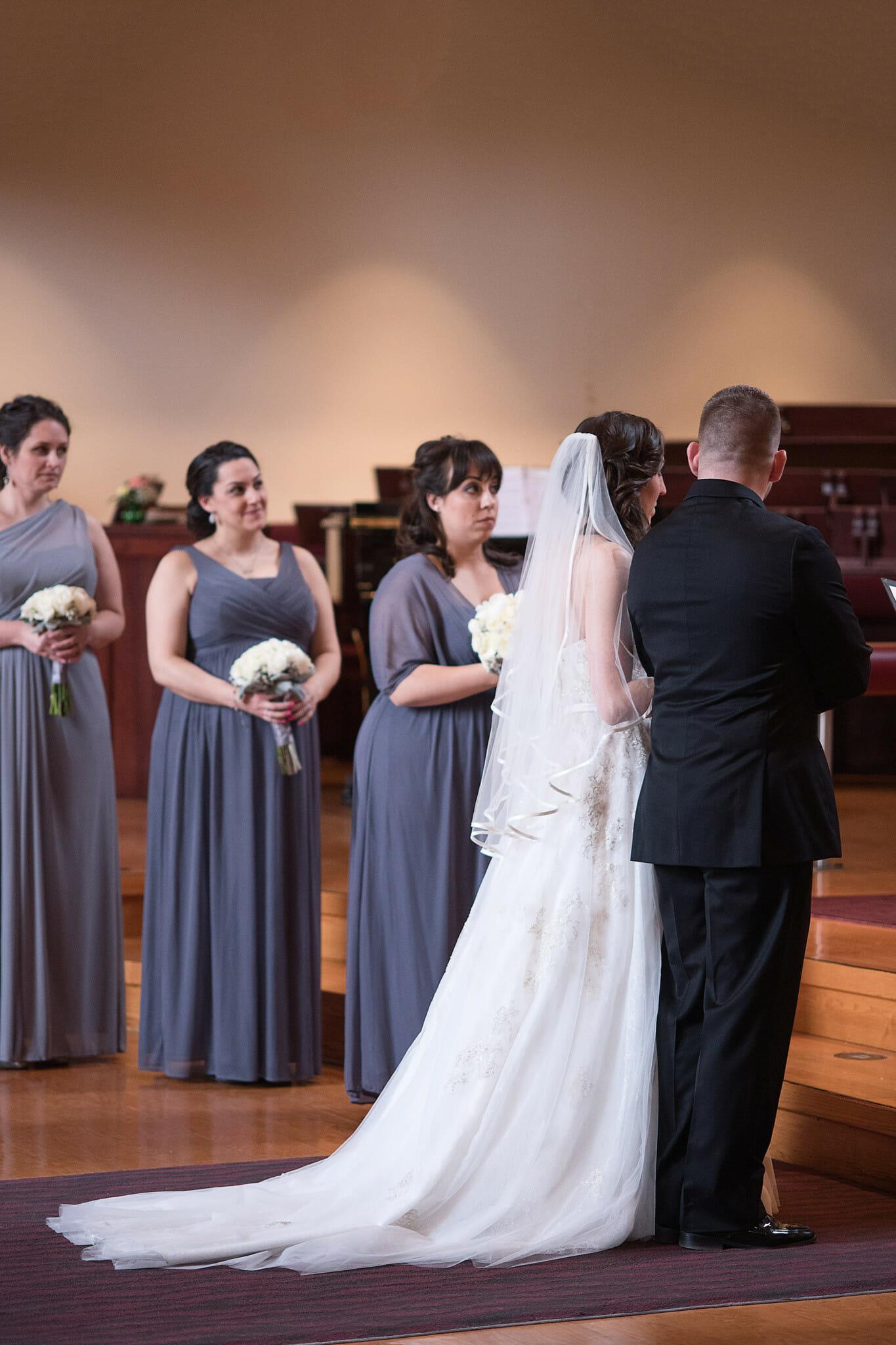 wedding photos trinity Anglican church aurora