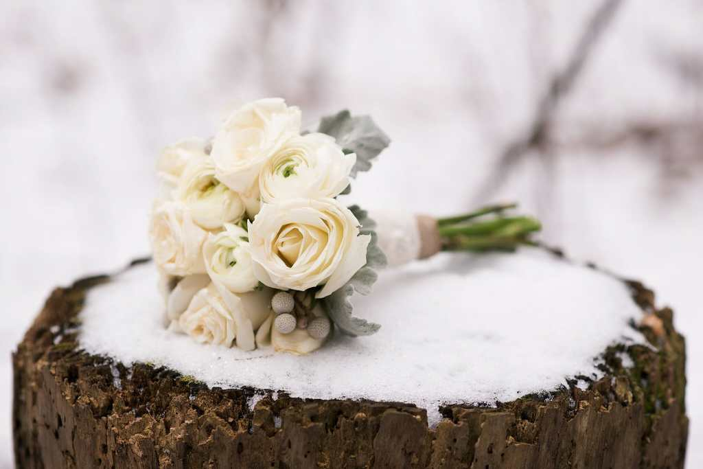 winter wedding photos vaughn