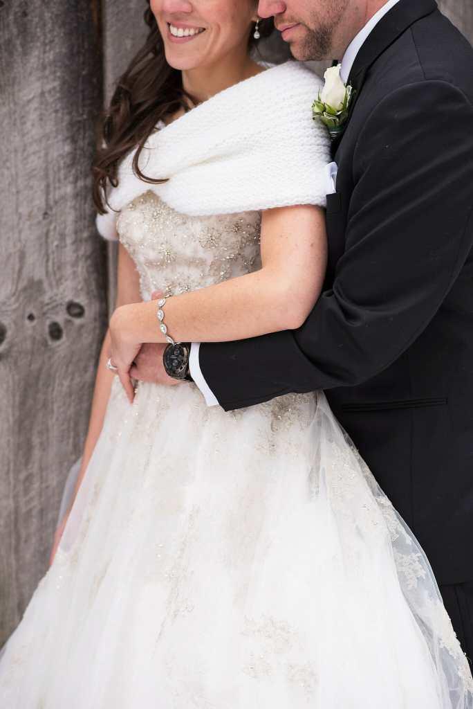 winter wedding photos aurora
