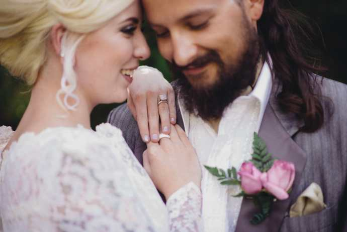 images focused on brides wedding ring
