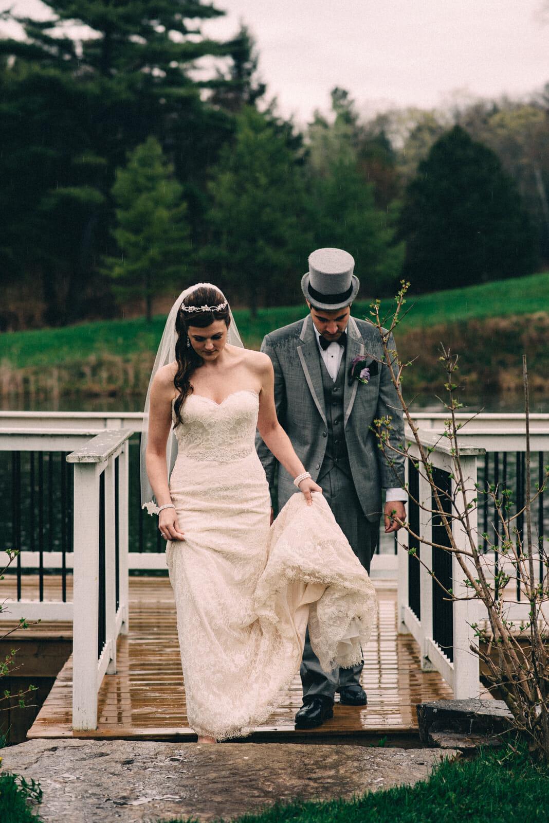 trillium trail wedding photography