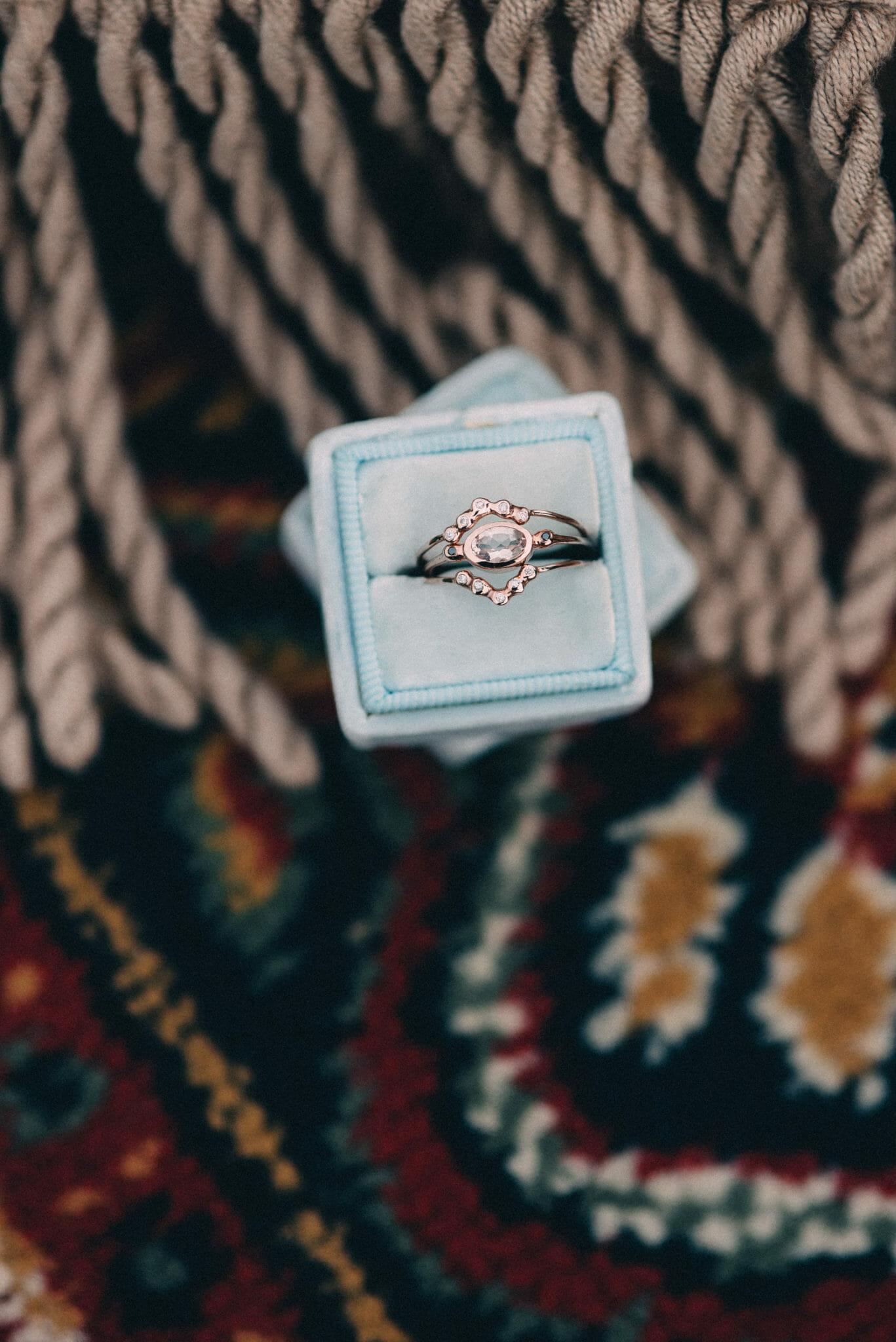 Handmade nature inspired ring