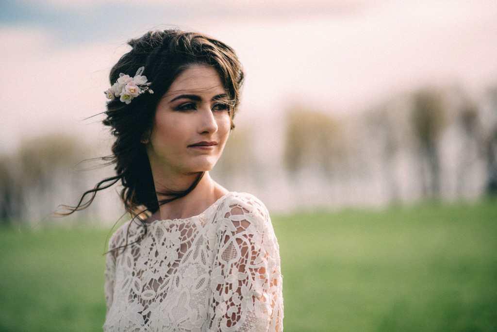bohemian Bride portrait