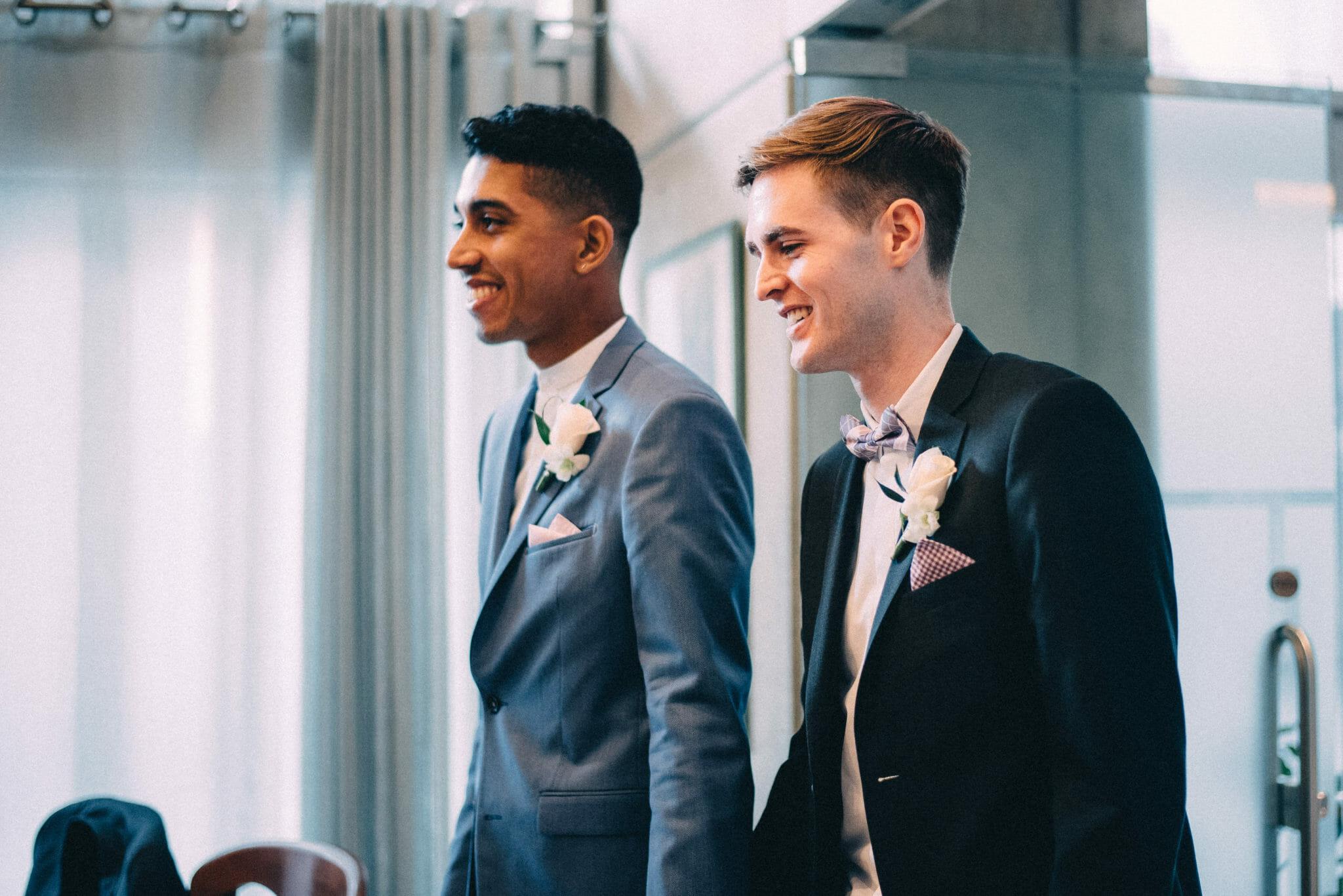gay wedding ceremony at toronto city hall