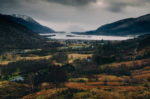 view of glencoe from pap of glencoe