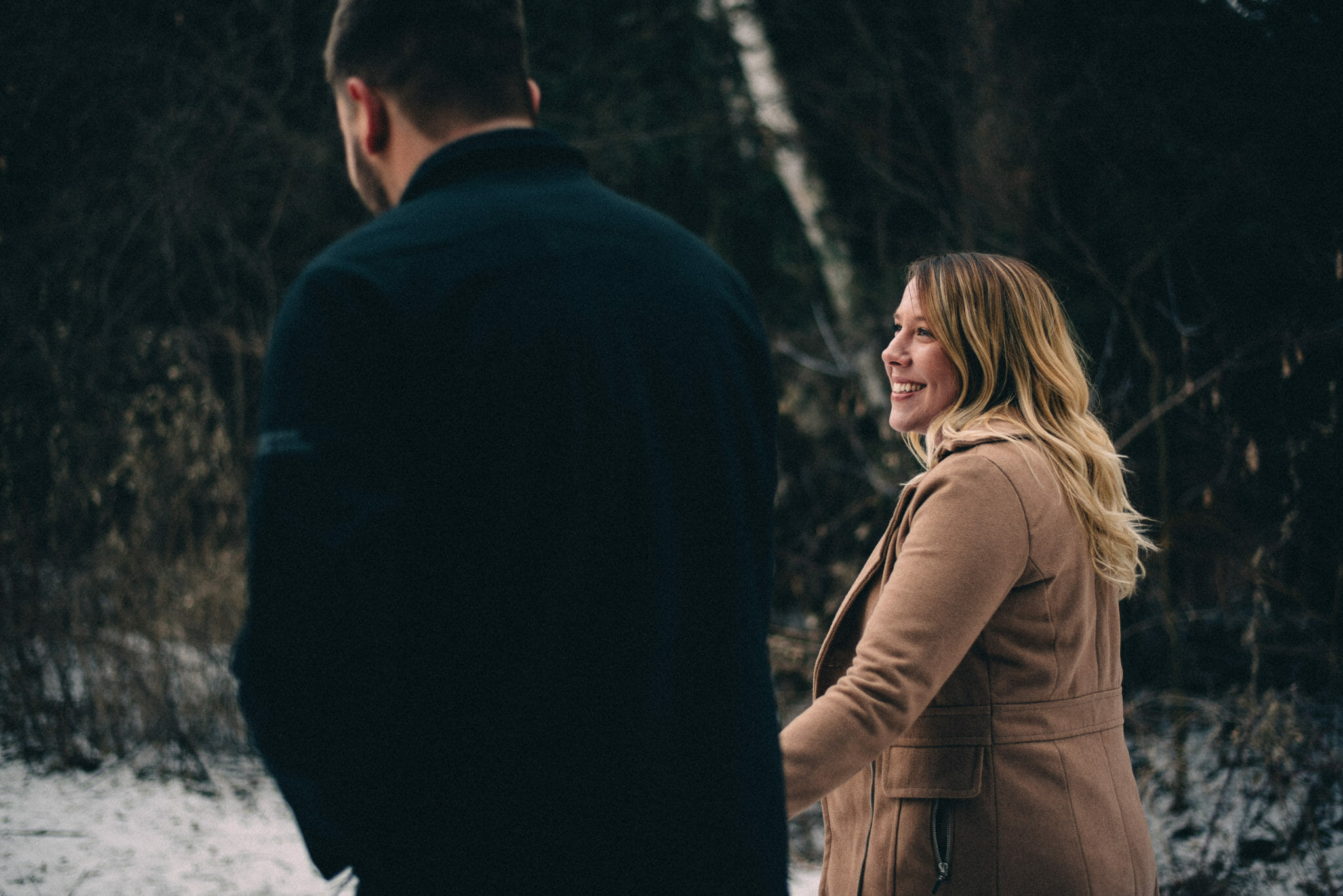 whitby engagement photography