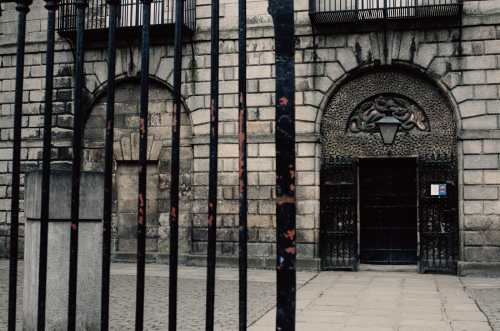 kilmainham gaol front entrance dublin