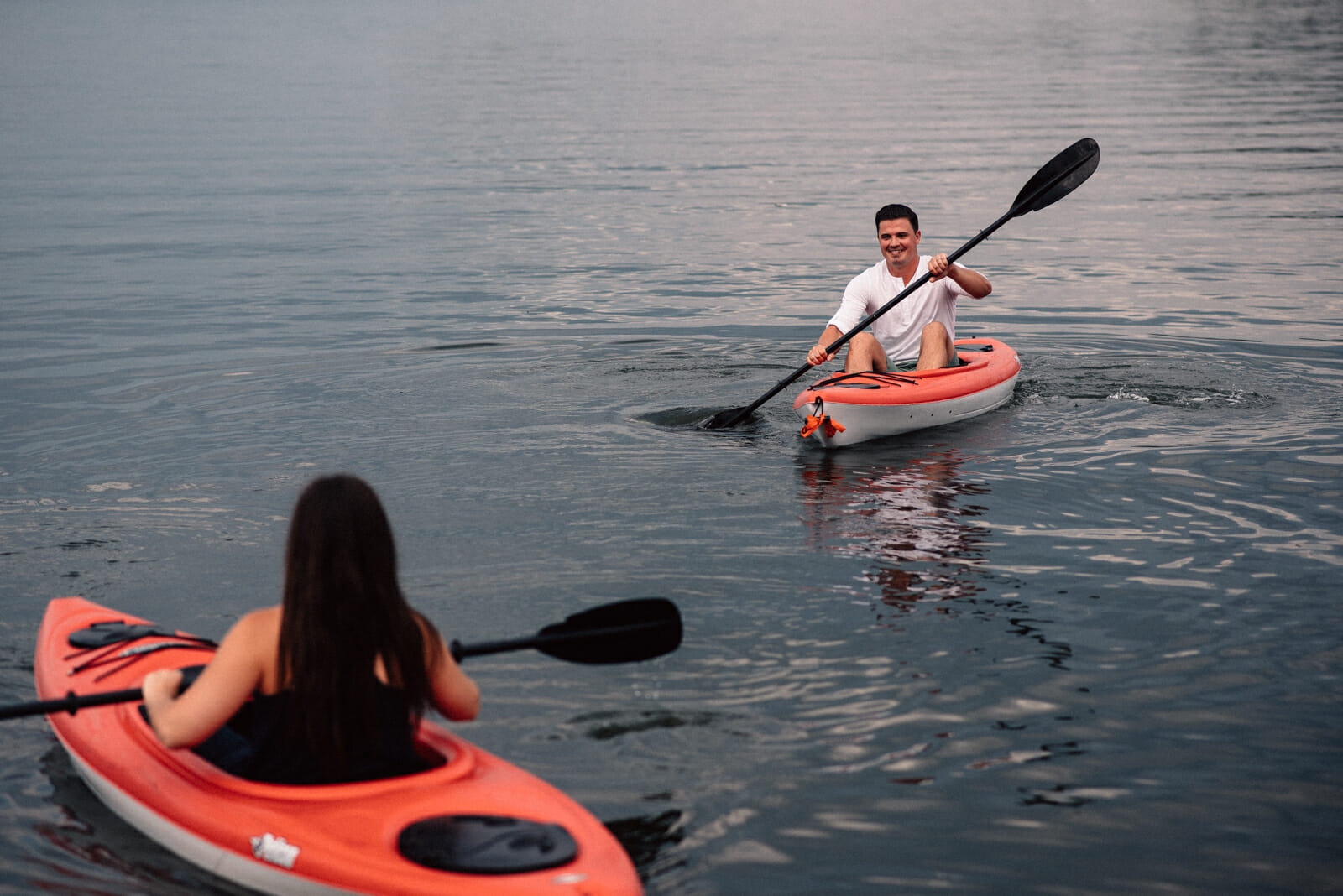 kayaking engagement photos barrie