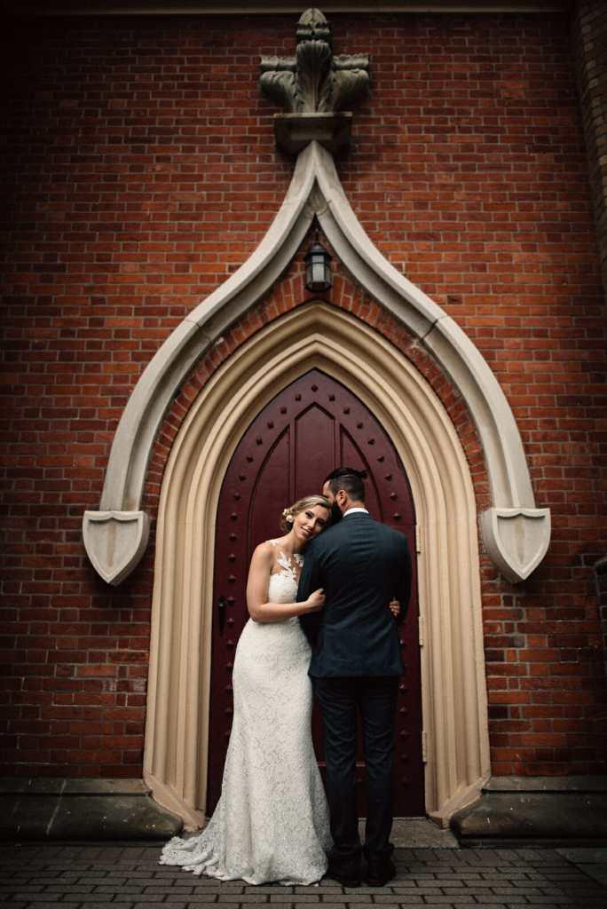 little trinity church toronto wedding photos