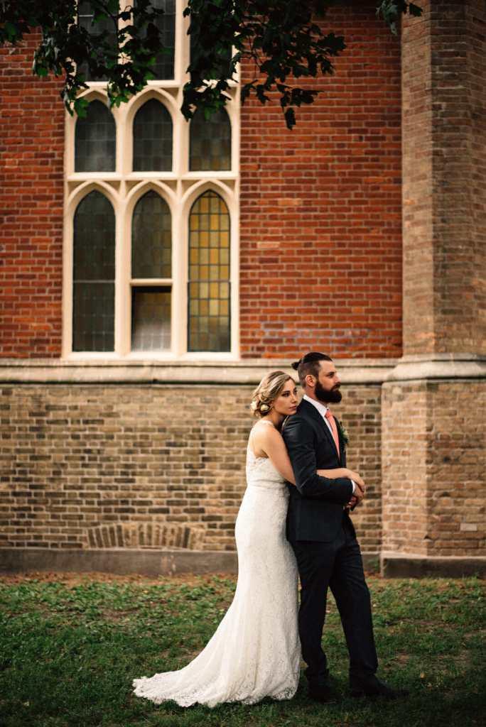 bride and groom wedding portrait photography in toronto