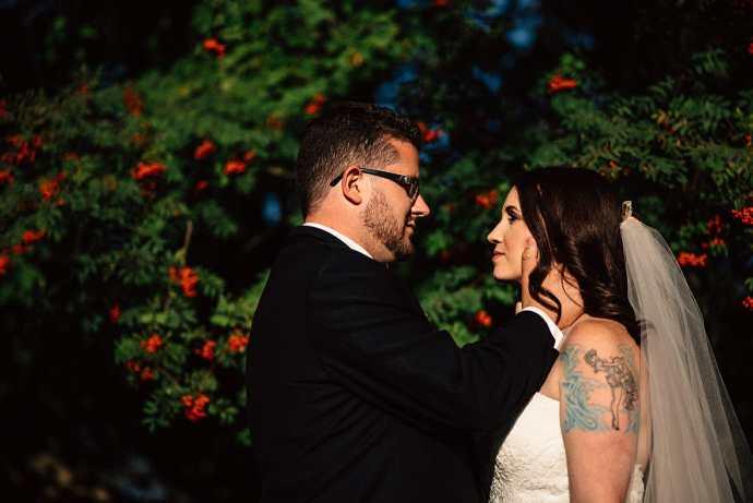 newlyweds photography