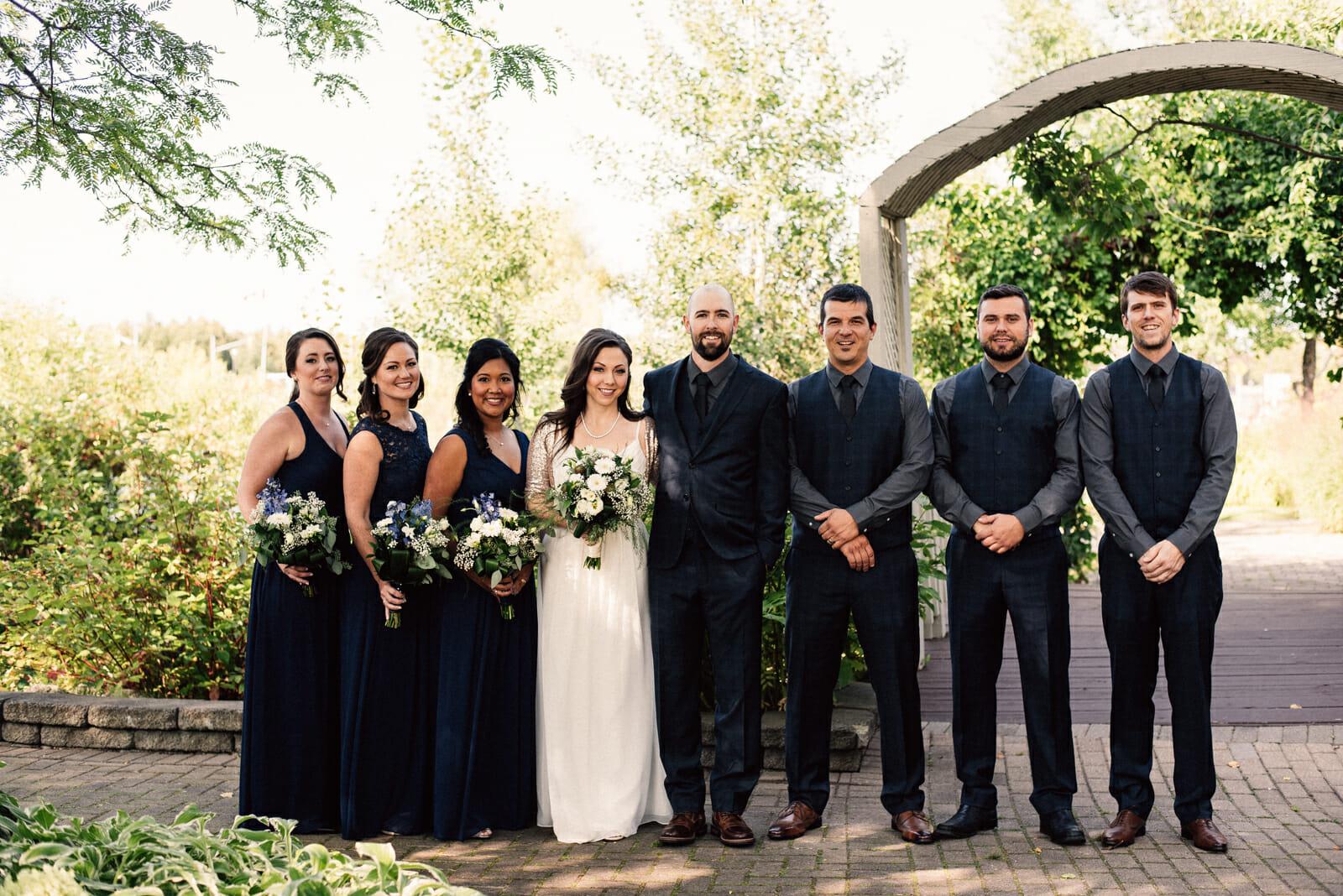 wedding party photos at nottawasaga inn alliston