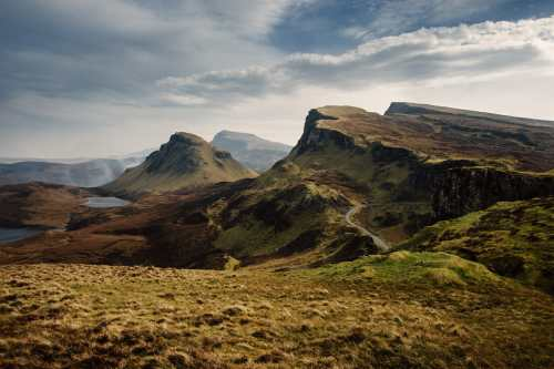 travel photography of the isle of skye scotland