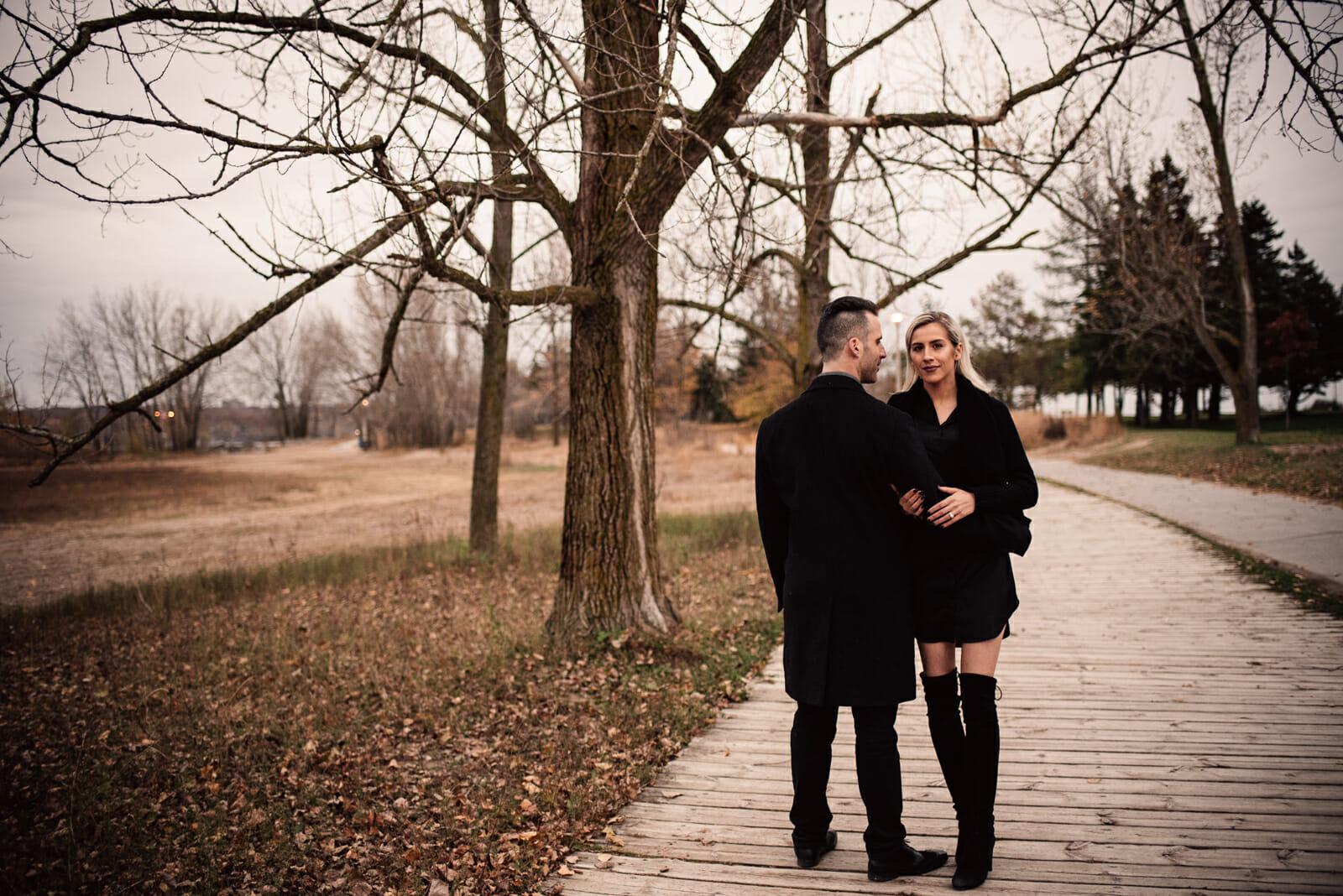 candid engagement photography toronto