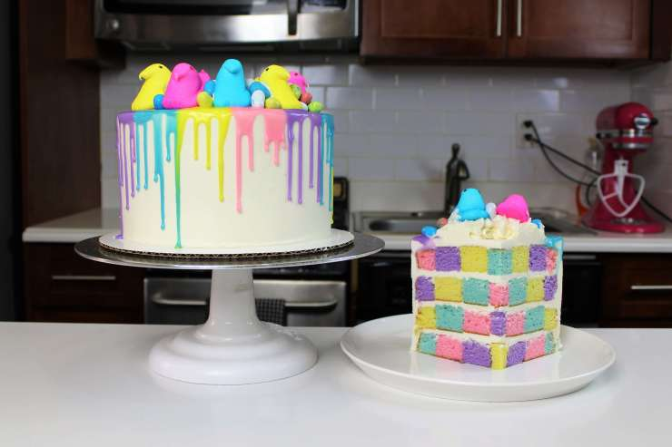 Colored Drips Recipe (White Chocolate Ganache) – Chelsweets