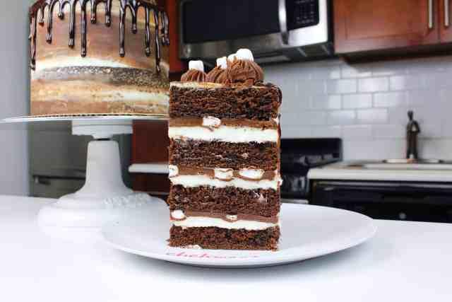 slice of hot cocoa cake close up-2