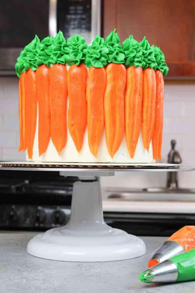 pasteles de zanahoria
