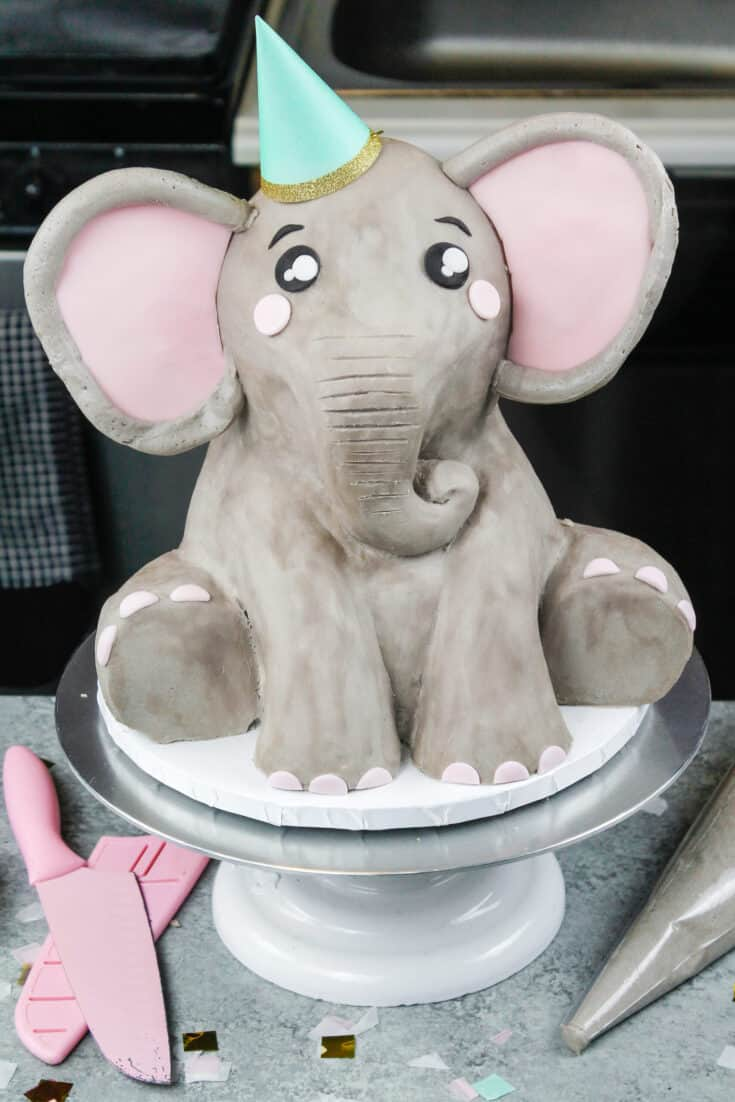 Elephant Cake: Detailed Tutorial & from Scratch Recipe