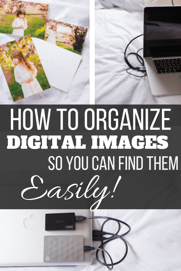 How to organize your digital images - exact folder setup!