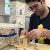 The Big Cheltenham LEGO build