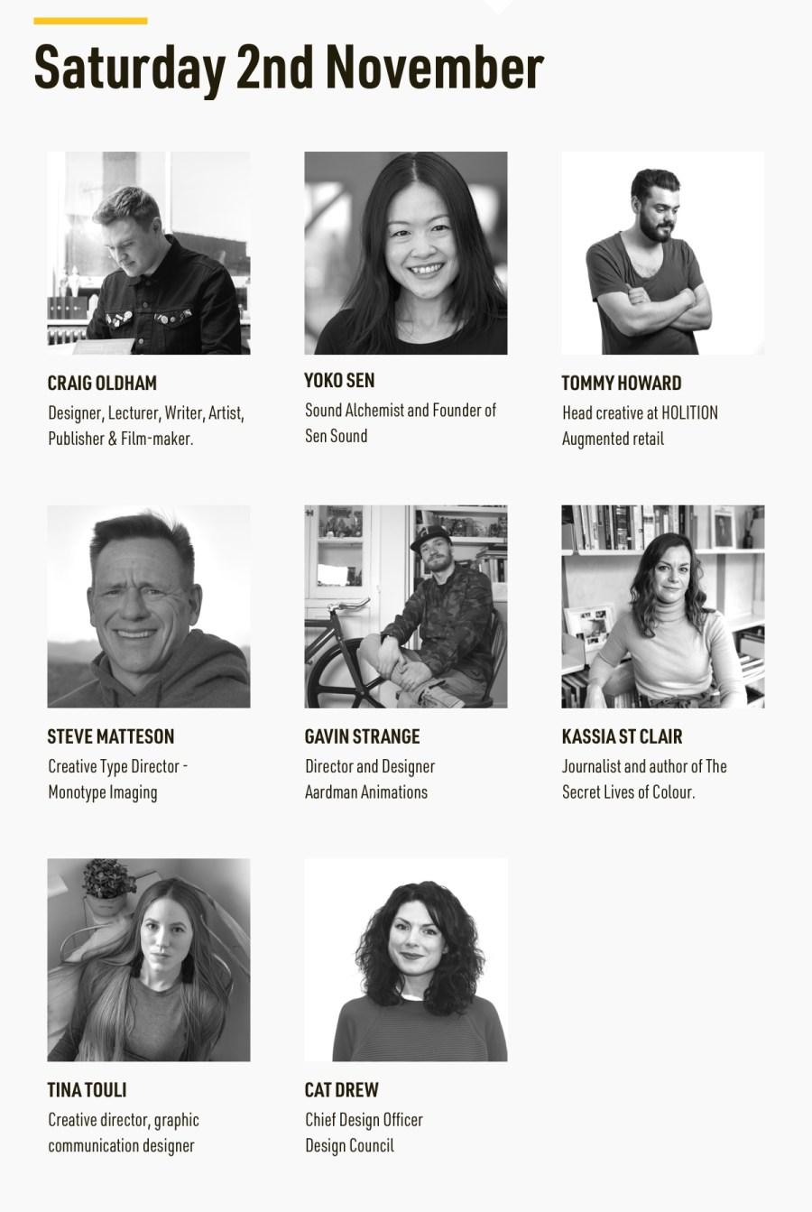 cheltenham design festival speakers
