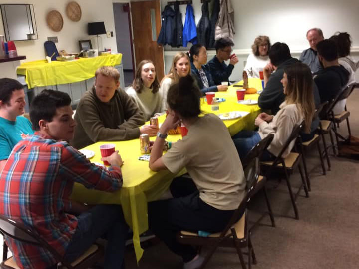 YA Ministry dinner