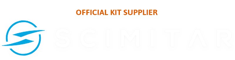 Official kit supplier Scimitar