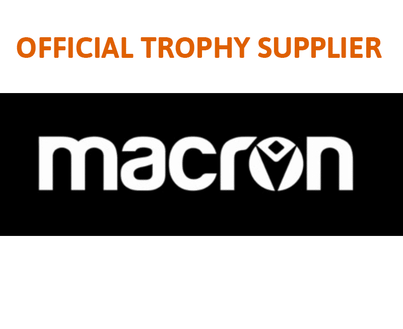 Official trophy supplier Macron