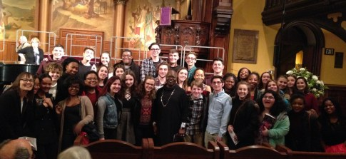 40 CHS Singers with Dr. Ysaye Barnwell!