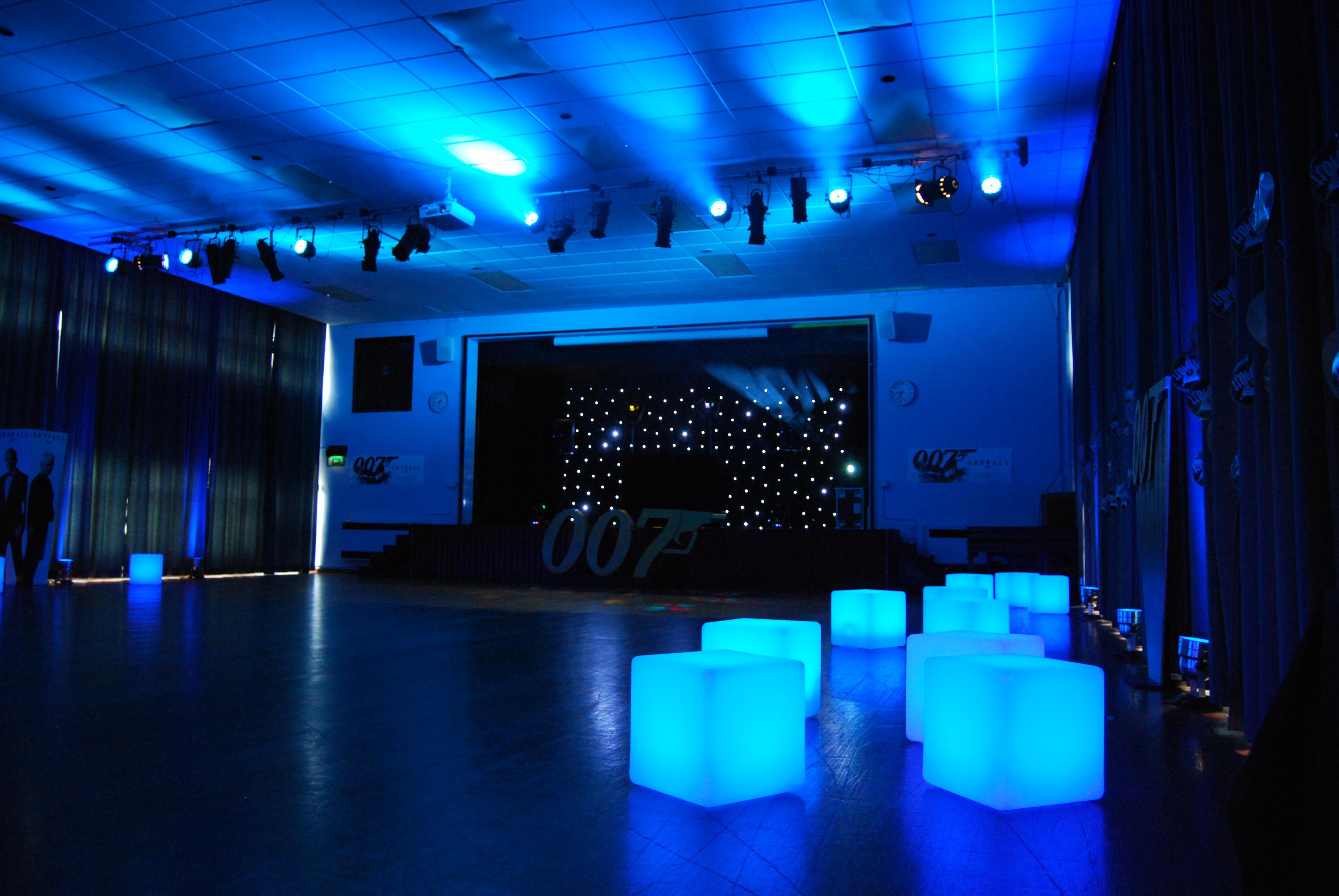 PartyEvent Theme Ideas James Bond  Cheltenham DJ