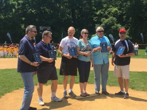CTRO's very own Jim Schott inducted into the Cheltenham Little League Hall of Fame