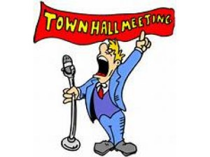 YOU'RE INVITED TO THE WAGNER-BARTOS TOWN HALL MEETING ON 18 JULY!!