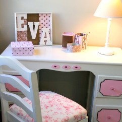 Girls Desk With Chair French Ladder Back Chairs Cheltenhamroad