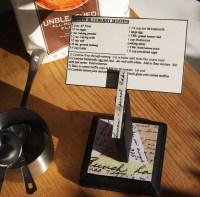 Recipe Card Holder Tutorial