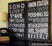 Subway Art Signs   cheltenhamroad